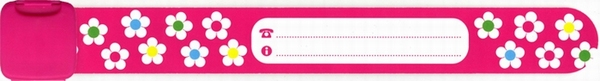 Infoband Flowers Pink